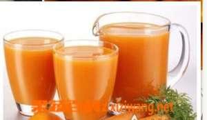 红萝卜汁的功效与作用